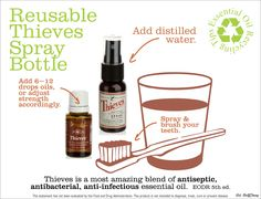 Young Living Essential Oils:  Thieves | For more information or to order, come visit:  www.thesavvyoiler.com