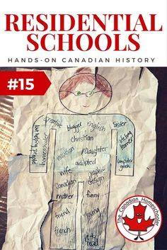 Hands-On Canadian History: Residential Schools - - One of the darkest parts of Canadian history is the use of residential schools for native children. Let's explore the effects of these schools on students. Social Studies Notebook, Social Studies Resources, Teaching Social Studies, Teacher Resources, Teaching Ideas, Primary Teaching, Aboriginal Education, Indigenous Education, Aboriginal Culture