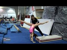 If you're having trouble landing a front aerial, do a front walkover up to a mat (hands on floor) and stand up fast