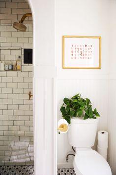 New Darlings Before & After Bathroom Reveal - Vintage Minimal Style