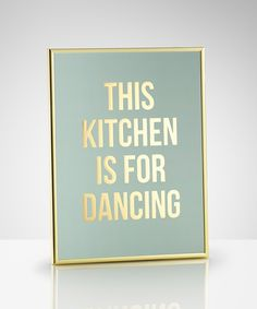 Dancing gold, poster