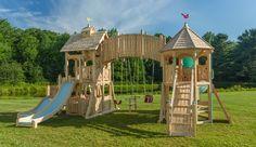 Serendipity 401: 1 climbing wall, 2 stories, 3 slides, infinite play.
