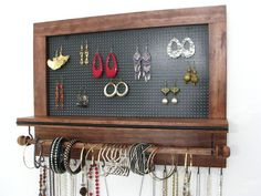 Quick and Easy And Cheap DIY Jewelry Organizer Ideas