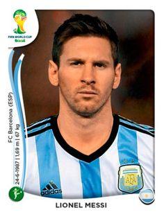 Argentina - Lionel Messi Mundial Brasil 2014 0b97a7c11