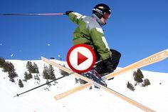 Ski jump was way bigger then expected #crazy, #extreme, #videos, #pinsland, https://apps.facebook.com/yangutu