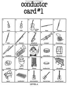 Beth's Music Notes: Peter and the Wolf matching game