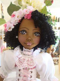 Bonecas de pano. Bonecas negras Soraia Flores