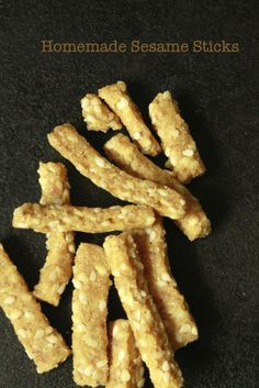 homemade sesame sticks #FreshExpress #BlendsRecipe