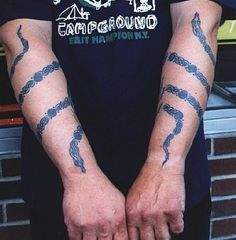 snake tattoo wrapped around arm - Google Search