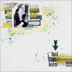 """Layout mit #EchoPark """"Reflections"""" von Svenja Friedrich für www.danipeuss.de"""