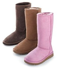 tall classic ugg boots. Need to get me a new pair of the chestnut color.