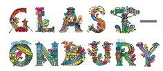 Alisdair Wright, Level 6 Illustration #illustration #bookcover #glastonbury #typography