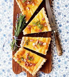 Bacontærte (quiche lorraine)