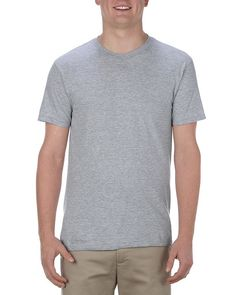 Athletic Heather (90% Cotton + 10% Polyester) - 5301ALS Alstyle Ultimate Adult Tee | T-shirt.ca