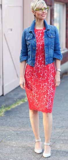 Love everything about this fab outfit from Angie Cox