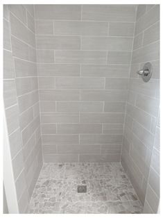 Lowes Bathroom, Bathroom Wall Cabinets, Bathroom Floor Tiles, Grey Bathrooms, Small Bathroom, Bathroom Ideas, Tile Floor, Travertine Bathroom, Bathroom Remodeling