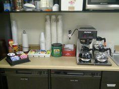 coffee bar display ideas - Google Search Bar Displays, Display Ideas, Coffee Service, Espresso Machine, Coffee Maker, Kitchen Appliances, Google Search, Espresso Coffee Machine, Coffee Maker Machine