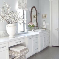 White cabinets for bathroom. Simple white bathroom cabinets for modern the new way ideas, bathroom with white cabinets for modern concept white bathroom. Elegant vanity wall cabinets for bathrooms white bathroom cabinet. White Bathroom Cabinets, White Cabinets, Bathroom Marble, Bathroom Vanities, White Counters, Narrow Bathroom, Kitchen White, Bathroom Shelves, Kitchen Cabinets