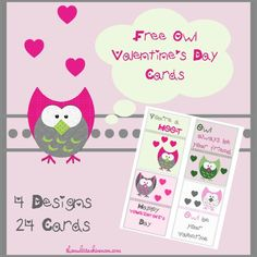 Free Valentines Day Card Printables