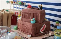 Angry Bird-Day party.. | CatchMyParty.com