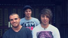 #alltimelow rian, zack, and alex  wheres jack?