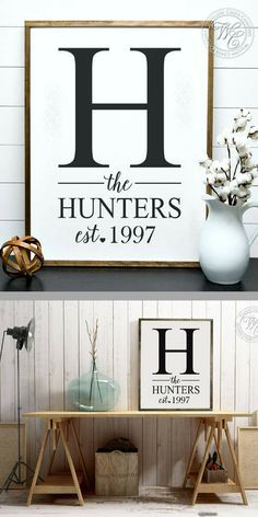 I love this personalized framed wooden sign!! It would make the perfect wall decor for your home or a rustic wedding sign. These framed wedding signs are also a perfect keepsake to bestow upon a friend or loved one as a wedding gift, engagement gift, shower gift, anniversary gift, birthday gift, or housewarming gift. #farmhouse #farmhousedecor #farmhousestyle #personalizedsign #familysign #rusticdecor #weddingdecor #farmhousewedding #ad