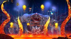 From Rayman Legends: FIESTA DE LOS MUERTOS LUCHADOR BOSS FIRE