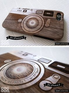 Wood engraved camera IPhone Case, Iphone 5 Guy Stuff, Random Stuff, Iphone 5s, Iphone Cases, My Guy, Phone Accessories, Things I Want, Gadgets, Tech