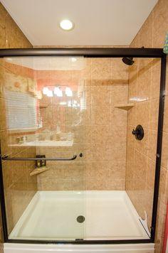 Shower Replacement - Re-Bath Remodel - Durabath Shower Surround -
