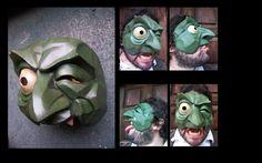 Facteur de masque :: MARIO CARRILLO demi masque mr georges