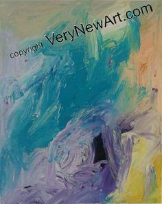 Ölbild Fh 10.9.10/2 des Kölner Künstlers Klaus Evertz #kunst #art #gemälde #paintings