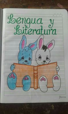 Carátulas web cuaderno Letter School, Oil Pastel Drawings, Notebook Art, Grammar Book, Decorate Notebook, Borders And Frames, Border Design, Math Classroom, Pansies