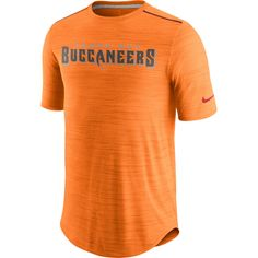 Men's Tampa Bay Buccaneers Nike Orange Sideline Player Performance T-Shirt