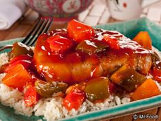 Sweet and Sour Pork Chops - Homemade takeout night!