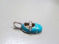 BABY SHOE CHARM by BETTYSJEWELRYDESIGNS on Etsy, $15.00