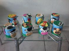 latas de leite decoradas com eva