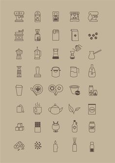 free-coffee-store-icon-set