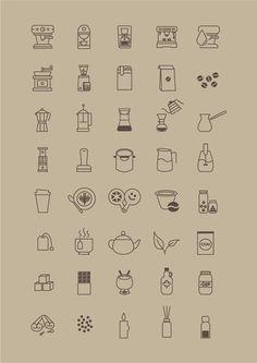 free-coffee-store-icon-set
