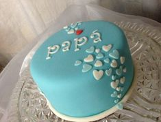 Fathers Day Cake Fondant Cakes Cupcake Buttercream Mini Dad