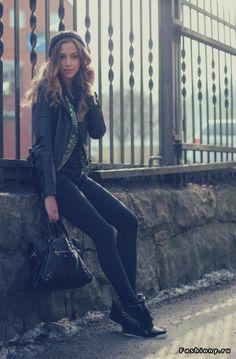 Kenza Zouiten - самый популярный блоггер Скандинавии / скандинавские женщины