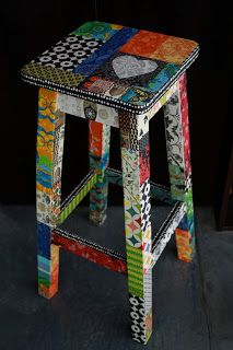 42 Herausragende Diy Painted Chair Designs Ideen zu versuchen, Best Picture For Decoupage en madera For Your Taste You are looking for something, and it is g Decoupage Furniture, Art Deco Furniture, Funky Furniture, Colorful Furniture, Furniture Makeover, Decoupage Wood, Furniture Buyers, Outdoor Furniture, Hand Painted Chairs