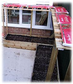 Vegetable Garden Layout from Container Gardening for food