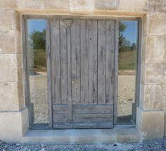 Porte Dentrée Avec Encadrement Metal Et Verre Doors Pinterest - Encadrement porte d entree