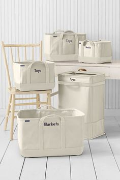 Lands End canvas for storage/laundry needs