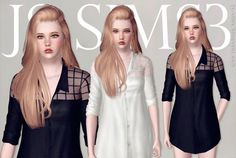 Boyfriend Mesh Shirts by JS Sims 3 - Free Sims 3 Clothing Downloads JS Sims3 Custom Content Caboodle - Best Sims3 Updates and Finds