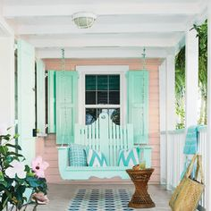 Pretty Pink Porch