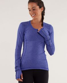 Star Runner LS - lulu - christmas suggestion for frank Gym Tops, Women's Tops, Athletic Outfits, Athletic Wear, Yoga, Workout Wear, Workout Style, Sporty Style, Courses