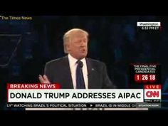AIPAC crowd laughs at Donald Trump when he says he's studied the Iran nuclear deal more than anyone
