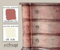 Beautiful color combination Annie Sloan Chalk Paint