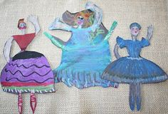 Pastel dancers